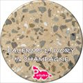 Palermo 19 Ivory Three Quarter Champagne