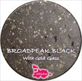 Broadpeak Black with Gold Glass Seed