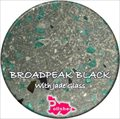 Broadpeak Black with Jade Glass Seed