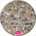 Palermo 19 Ash Three Quarter Champagne